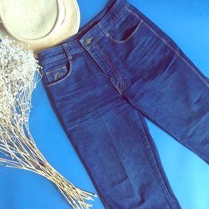 Vintage 90s Jordache dark wash indigo jeans